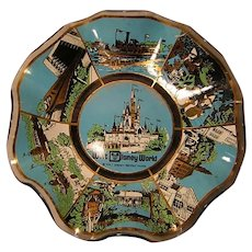 Walt Disney World Glass Dish