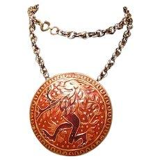 Lee Bernay Designs Lion Medallion Pendant