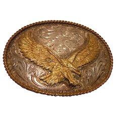 Vintage American Eagle Belt Buckle