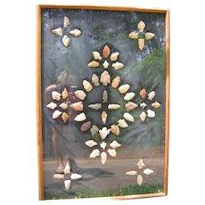 Native American Arrowhead Collection
