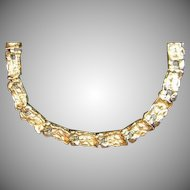 Vintage Heavy 14k Gold Nugget Style Bracelet