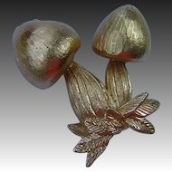 Vintage Napier Mushroom Pin