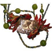 Josty Collage Necklace  'Reflections'