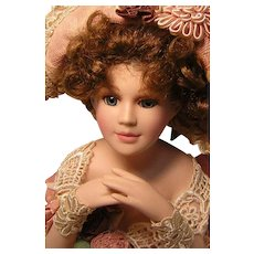 Vintage Half Doll Signed Wayne M. Kleski