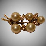 Vintage Faux Pearl Pin