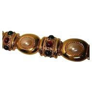 Vintage Huge Mogul Style Bracelet