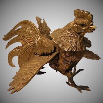 Vintage Italian Fighting Cock