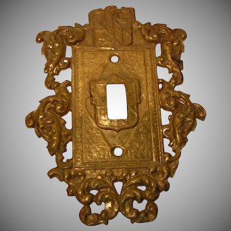 Vintage Ornate Switch Plate Cover