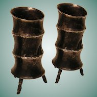 Vintage Pair of Chinese Export Vases