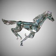 Vintage Murano Glass Horse Signed and Numbered M. R. 1/150 90