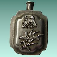 Vintage Art Deco Style Snuff Bottle Shaped Pin