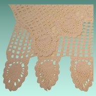 Vintage Three Piece Crochet  Doily Set