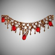 Art by Josty Collage Necklace 'My Moroccan Dream Necklace'