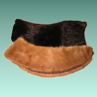 Vintage Fur Collars from Old Coats