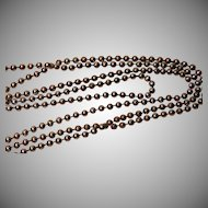 Vintage 30 inch Sterling Silver Chain Necklace 8.6 grams