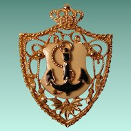 Vintage Nautical Brooch
