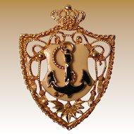 Vintage Nautical Brooch