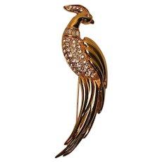 Vintage Monet Bird Brooch