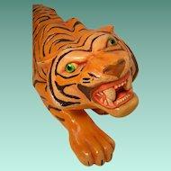 Vintage Large Ceramic Tiger Arners 1977
