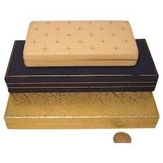 Vintage Jewelry Presentation Boxes (3)