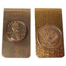 Vintage Money Clips