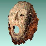 Sale! Folk Art Mask