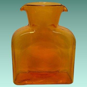 Vintage Blenko Glass Water Decanter