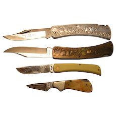 Mixed Lot of Folding Knives