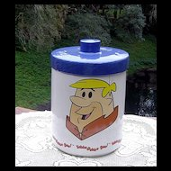 Flintstone Cookie Jar Barnie