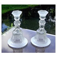 Tiara/Indiana Glass Candlestick Pattern #10032