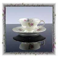 Demitasse Cup and Saucer by Edelstein China