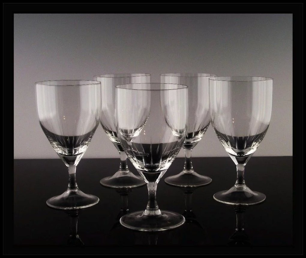 German Wine Glasses With Handles