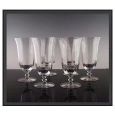 Elegant Optic Tea Goblets - Red Tag Sale Item