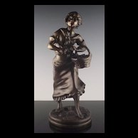 Ernest Rancoulet French Bronze Sculpture ca 1890-1915