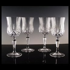 Opera Water/Large Wine Glass by Royal Crystal Rock