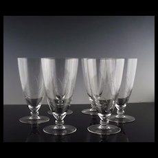 Lovely Tea Glasses with Windswept Reeds