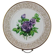 """Clearance: Boehm Porcelain Collector's Plate """"Angle Face"""" ca 1982 - Red Tag Sale Item"""