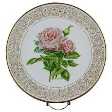 "Clearance: Boehm Porcelain Collector's Plate ""Queen Elizabeth"" ca 1982"