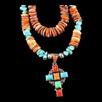 White Fox Creation: Lion's Paw and Turquoise Collection