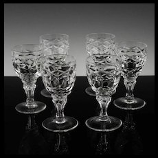 Set of Regal Cordials by Royal Leerdam ca 1948-50's