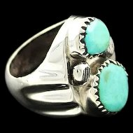 Heavy Cast Navajo Ring