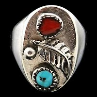 Navajo Cast Mens Ring