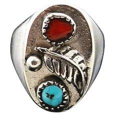 Navajo Cast Mens Ring