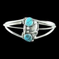 Navajo Kingman Nugget Bracelet