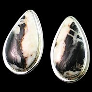 Beautiful White Buffalo Post Earrings
