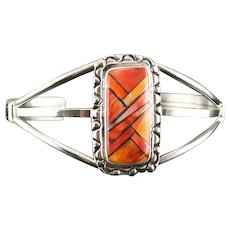 Tri-Color Spiny Oyster Bracelet by Richard Kee