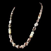 White Fox Creation: Wild Horse Magnesite Necklace
