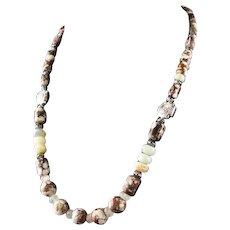 White Fox Creation: Wild Horse Magnesite Necklace