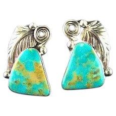 Navajo Earrings by Navajo Artist Augustine Largo