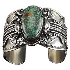 Spectacular  Navajo Bracelet by Darren Livingston